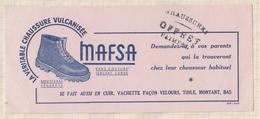 801 CHAUSSURES MAFSA OFFRET PAIMPOL  BUVARD - Shoes