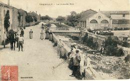 TREMILLY -- LA  GRANDE  RUE - Francia
