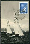 Italie - Carte Maximum 1965 - Bateau - Maximumkaarten