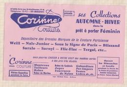 802  BUVARD VETEMENTS CORINNE COUTURE SAINT BRIEUC - Textile & Clothing
