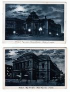 Two Old Postal Cards Budapest - Hongarije