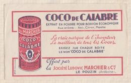 804  BUVARD COCO DE CALABRE Le Pouzin - Food