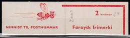 FEROE 1975 Booklet - Carnet (composé 1 Val Yv5 Et 6 Val Yv2) - Thème Abeille Sur Couverture - Féroé (Iles)