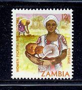 Zambia 1981, Mushrooms, Minr 254, Mlh. Cv 5 Euro - Zambia (1965-...)