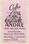 807  BUVARD CAFES ANDRE BRULERIE GUINGAMP - Café & Thé