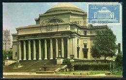 Etats Unis - Carte Maximum 1954 - Columbia University - Maximumkarten (MC)