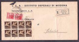 GR2351  - RACCOMANDATA LUOGOTENENZA - 5. 1944-46 Luogotenenza & Umberto II