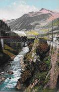 AIROLO → Gotthardbahn Beim Stalvedroviadukt, Ca.1910 - TI Tessin