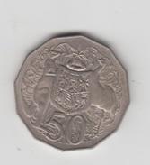 AUSTRALIA - 50 CENTS - 1971 - Monnaie Décimale (1966-...)
