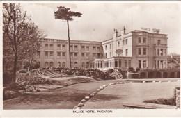 PAIGNTON - PALACE HOTEL. CIVIL DEFENCE JOIN NOW SLOGAN - Paignton