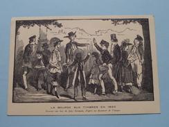 La Bourse Aux Timbres En 1860 ( Gravure Aux Bois De Jules Germain ) Anno ( Zie Foto Voor Details ) !! - Poste & Facteurs