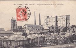 44. CHANTENAY SUR LOIRE. CPA PEU COURANTE. VUE GÉNÉRALE DES PAPETERIES GOURAUD. ANNÉE 1910 - Francia