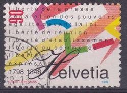 SUIZA 1998 Nº 1565 USADO - Suiza