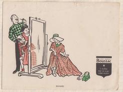 818  BUVARD TISSU BOUSSAC - Textile & Clothing