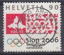 SUIZA 1998 Nº 1567 USADO - Suiza