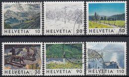 SUIZA 1998 Nº 1568/73 USADO - Suiza