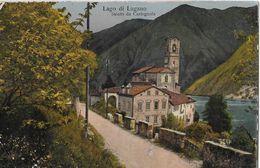 SALUTA DA CASTAGNOLA → Lago Di Lugano ANNO 1922 - TI Tessin