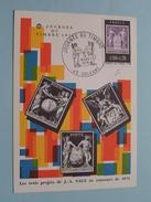 Journée Du Timbre 1976 Orléans ( Voir Photo / Soc. Philatéliques Françaises ) 13-Mars-1976 ORLEANS France !! - Poste & Facteurs
