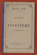 GUIDE JOANNE : 1884 : FINISTERE . - Géographie