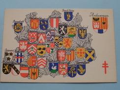 Armoiries / Wapens Der Provincie ( N 2 ) Anno 195? ( Zie Foto Voor Details ) - België