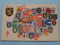 Armoiries / Wapens Der Provincie ( N 1 ) Anno 195? ( Zie Foto Voor Details ) - Belgique