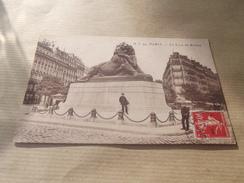 CP  Paris Le Lion De Belfort - Paris (14)