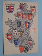 Armoiries / Wapens Der Provincie ( N 9 ) Anno 195? ( Zie Foto Voor Details ) - België
