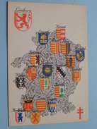Armoiries / Wapens Der Provincie ( N 6 ) Anno 195? ( Zie Foto Voor Details ) - Belgique