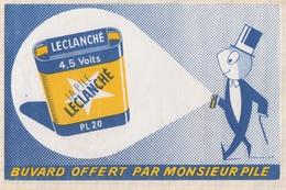 824 BUVARD PILE LECLANCHE - Elektriciteit En Gas