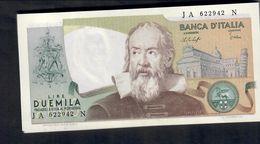 2000 LIRE Galileo Galilei Baffi Stevani 22 10 1976 Fds LOTTO 311 - [ 2] 1946-… : Républic