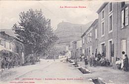 CPA (81) DOURGNE Entrée Du Village Route D' ARFONS - Dourgne