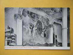 BARCELONA. La Maison Dorée. La Salle De Café. - Barcelona