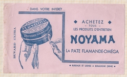 837 BUVARD  NOYAMA LA PATE FLAMANDE OMEGA BOULOGNE - Produits Ménagers