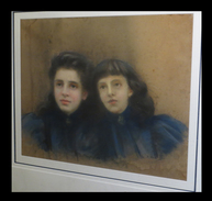 [Grand Pastel Si-igné A. Van B. Et Daté 1898]. - Pastels