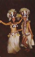 Tahitit Beautiful Dance Costumes Of The Group Heiva - Tahiti
