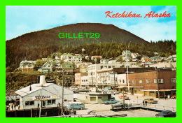 KETCHIKAN, ALASKA - FRONT STREET - REGGIE HIBSHMAN - THE CONTINENTAL CARD - - United States