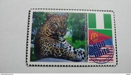 Israel-tiger-600units-used Card - Jungle