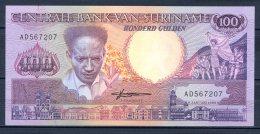 460-Surinam Billet De 100 Gulden 1988 AD567 Neuf - Surinam