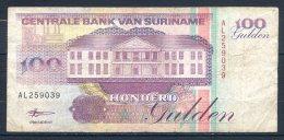 506-Surinam Billet De 100 Gulden 1998 AL259 - Surinam