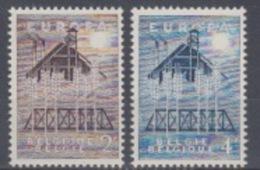 BELGIUM MNH** COB 1025/26 EUROPA - Belgique