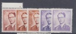 BELGIUM MNH** COB 1028/29 MARCHAND - 1953-1972 Lunettes