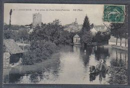Carte Postale 36. Issoudun  Vue Prise Du Pont Saint-Paterne   Trés Beau Plan - France