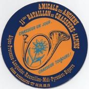 Autocollant : AMICALE Des ANCIENS 11ème Bataillon De Chasseurs Alpins - Autocollants