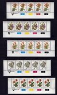 VENDA, 1979, Mint Never Hinged Stamps In Control Blocks, MI 1-17, Definitive's Flowers, X367 - Venda