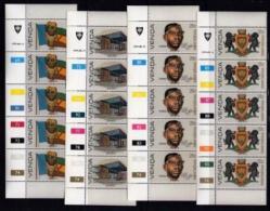 VENDA, 1979, Mint Never Hinged Stamps In Control Blocks, MI 18-21, Independence , X301 - Venda