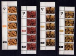 VENDA, 1981, Mint Never Hinged Stamps In Control Blocks, MI 50-53, Musical Instruments, X309 - Venda