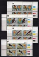 VENDA, 1983, Mint Never Hinged Stamps In Control Blocks, MI 70-73, Frogs, X314 - Venda