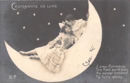 CROISSANTS DE LUNE / COUPLE / J AIME COLOMBINE ... / D.P - Fantaisies
