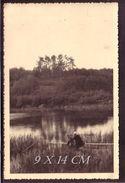 1930's Lithuania Lituanie Photo Foto Original River Venta Klaipeda District Lot #11195 - Lituania