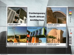South Africa - 2017 Contemporary South African Architecture Sheet (**) - Sonstige